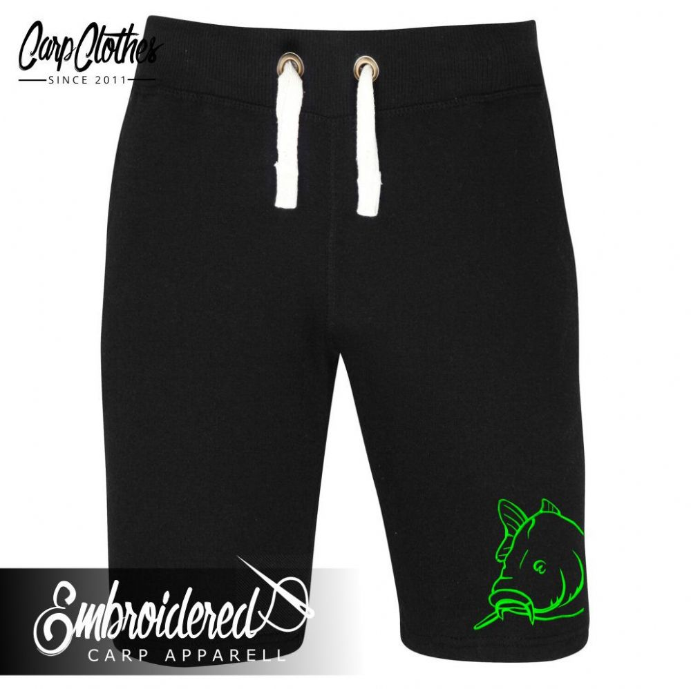 008 EMBROIDERED NEON SHORTS